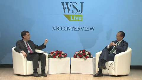 Arabic: Wall Street Journal, The Big Interview - What Will It Take? Restoring Growth, Spreading Prosperity in Times of Crisis