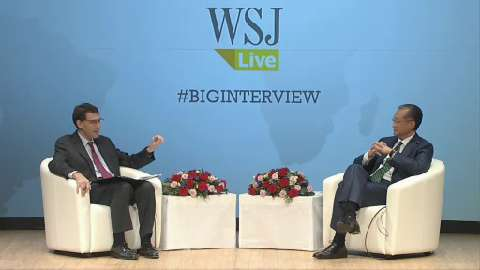 Spanish: Wall Street Journal, The Big Interview - What Will It Take? Restoring Growth, Spreading Prosperity in Times of Crisis