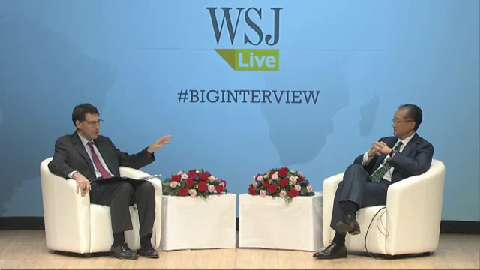 French:  Wall Street Journal, The Big Interview - What Will It Take? Restoring Growth, Spreading Prosperity in Times of Crisis