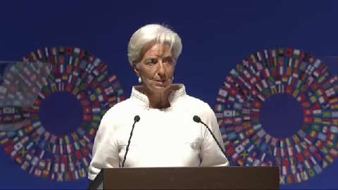 Christine Lagarde Speech - 2012 Annual Meetings Plenary