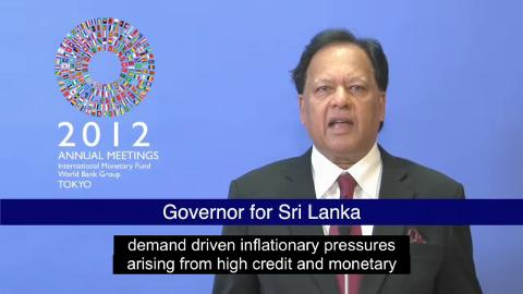 Statement by the Governor of Sri Lanka