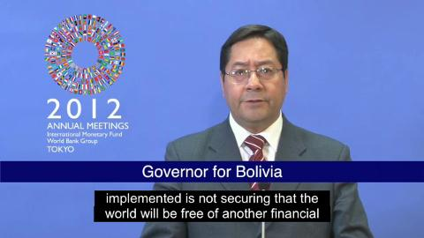 Statement by the Governor of Bolivia