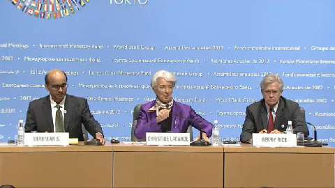 Chinese: Press Briefing: IMFC Chair Tharman Shanmugaratnam and IMF Managing Director Christine Lagarde
