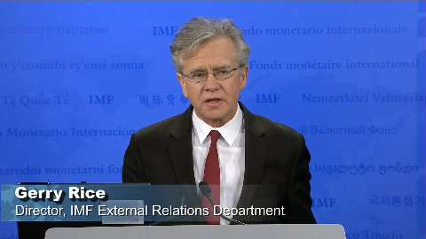 Press Briefing by Gerry Rice, Director, IMF External Relations