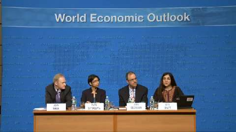 Press Conference: Analytical Chapters of April 2013 World Economic Outlook(WEO)