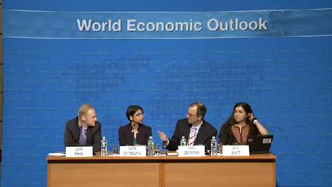 Spanish version: Press Conference: Analytical Chapters of April 2013 World Economic Outlook(WEO)