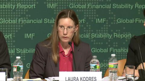 Press Conference: Analytical Chapters of April 2013 Global Financial Stability Report (GFSR)