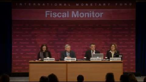 Press Conference: April 2013 Fiscal Monitor