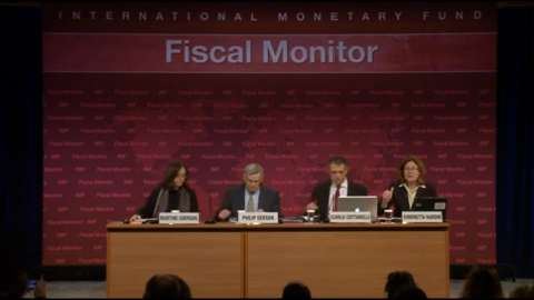 French version: Press Conference: April 2013 Fiscal Monitor