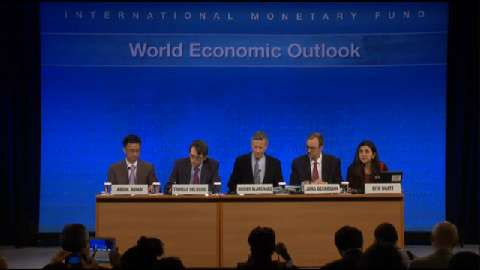 Press Conference: April 2013 World Economic Outlook (WEO)