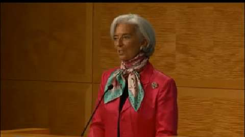 Opening Remarks: Christine Lagarde at Rethinking Macro Policy: First Steps and Early Lessons