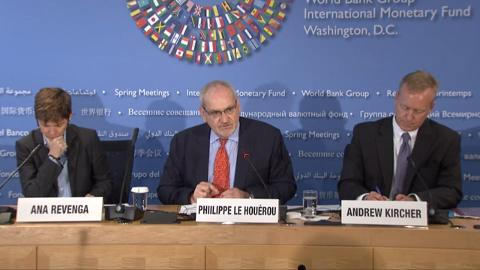 Press Briefing: World Bank Europe and Central Asia Regional Economic Update