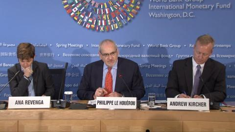 Russian: Press Briefing: World Bank Europe and Central Asia Regional Economic Update