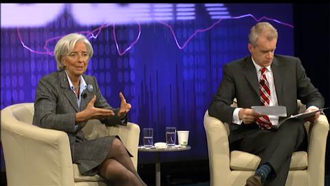 Q&A with IMF Managing Director Christine Lagarde