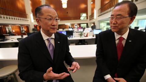 World Bank and UN Explore Ways to End Poverty Together