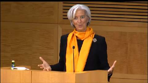 French: Opening Remarks by IMF's Lagarde and World Bank's Kim at a Joint IMF-WB Conference on Fiscal Policy, Equity, and Long-Term Growth in Developing Countries
