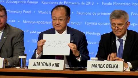Jim Kim Calls Endorsement of Target to End Extreme Poverty a Historic Moment