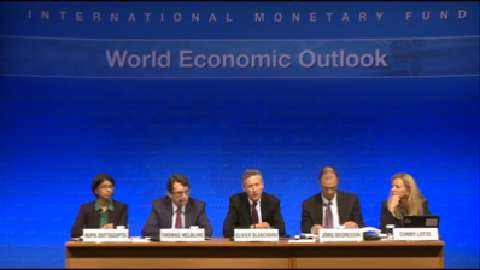 French: World Economic Outlook Press Conference