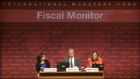 French: Fiscal Monitor Press Conference
