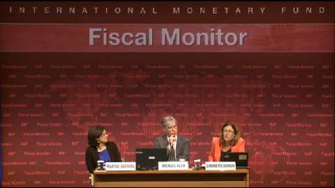 Spanish: Fiscal Monitor Press Conference
