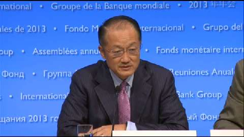 Press Conference: World Bank Group President Jim Yong Kim