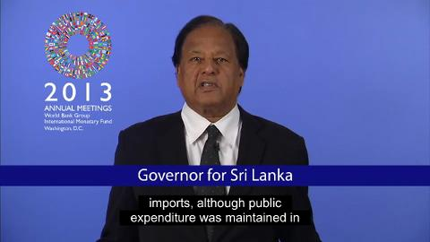 Governor for Sri Lanka