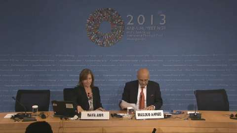 Arabic: Middle East and Central Asia Regional Economic Outlook Press Conference