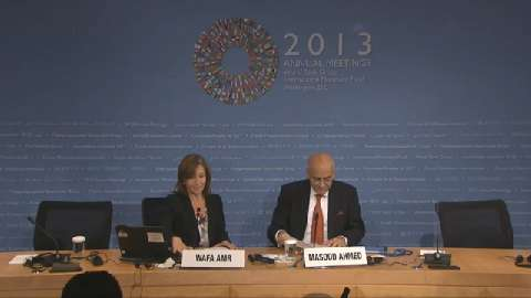Middle East and Central Asia Regional Economic Outlook Press Conference