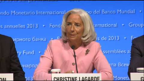 Press Conference: IMF Managing Director Christine Lagarde