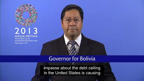 Governor for Bolivia