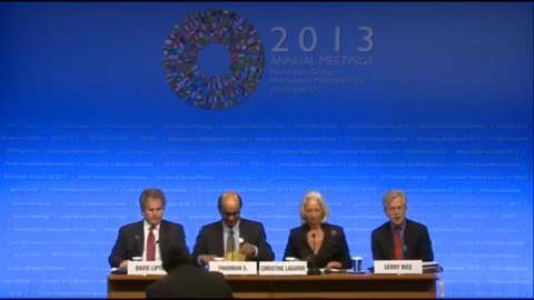Spanish: Press Briefing: IMFC Chair Tharman Shanmugaratnam and IMF Managing Director Christine Lagarde