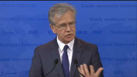 Press Briefing by Gerry Rice, Director, IMF Communications Department