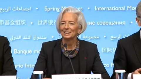 Press Conference: IMF Managing Director