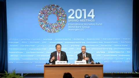 Press Briefing: World Bank Group President Jim Yong Kim