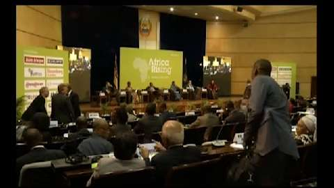 Plenary Panel Session II: Fostering Inclusion and Job Creation, Africa Rising Conference, Mozambique
