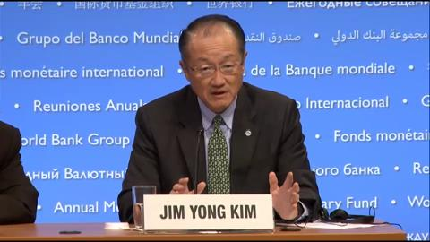 Spanish: World Bank Group President Press Conference