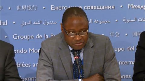 French: Press Briefing: African Finance Ministers