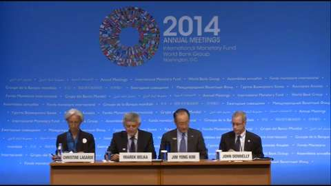 Arabic: Press Briefing: Development Committee