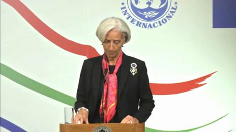 PORTUGUESE: Santiago High-Level Conference – Opening Remarks by Managing Director Lagarde