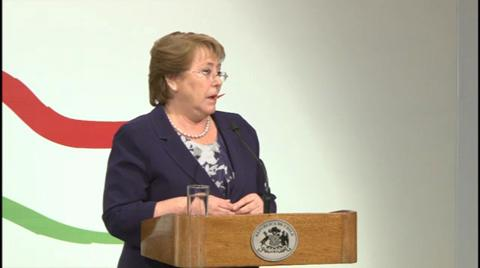Santiago High-Level Conference – Opening Remarks by President Bachelet