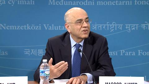 Press Briefing: Regional Economic Outlook: Middle East and Central Asia