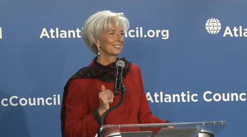 A Conversation with Christine Lagarde on the Global Economy