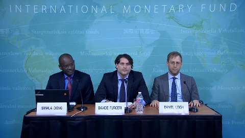 Press Briefing: World Economic Outlook Analytical Chapters