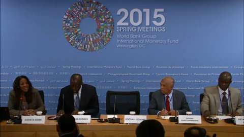 Press Briefing: African Finance Ministers
