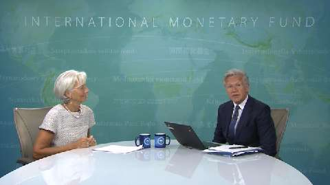 Online Press Conference with IMF Managing Director Christine Lagarde