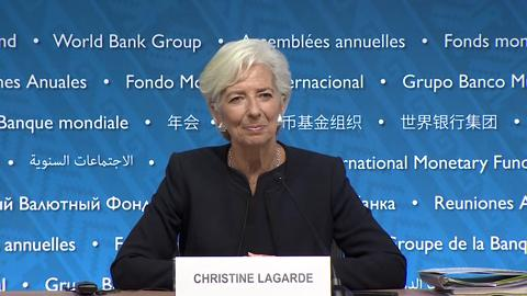 Press Briefing: IMF Managing Director, Christine Lagarde