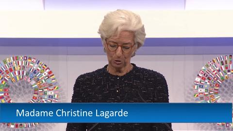 FRENCH: IMF Managing Director Speech at the 2015 Annual Meetings Plenary Session