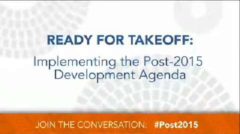 Seminar:  Ready for Takeoff: Implementing the Post-2015 Development Agenda