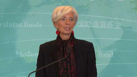 Press Briefing: IMF Managing Director Christine Lagarde says Executive Board Includes Chinese Renminbi in SDR Basket
