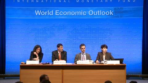 CHINESE: Press Briefing: World Economic Outlook, April 2016